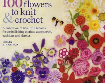 EBook Crochet Flower, Crochet Pattern/ PDF / Pattern / Instant Download