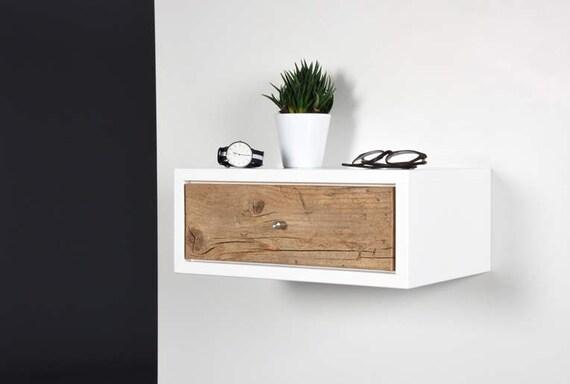with espresso shelf storage drawer wall nightstand floating drawers slp amazon welland mounted com