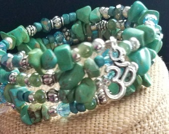 Dyed Howlite the Peacemaker, Calming and Soothing