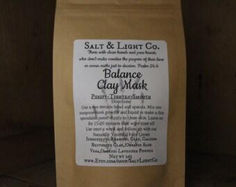 Balance Clay Mask/Lavender & Aloe-Acne