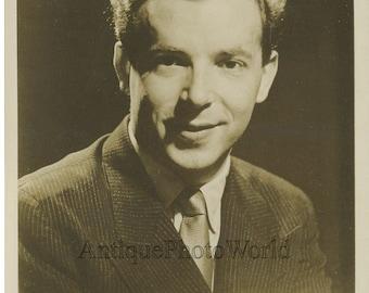 Pianist Paul Badura-Skoda antique music photo