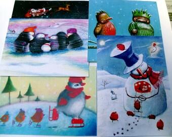 5 Christmas Card Selection