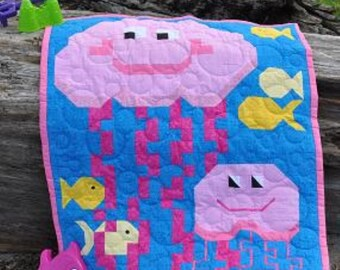 Jelly Fish Quilt Pattern