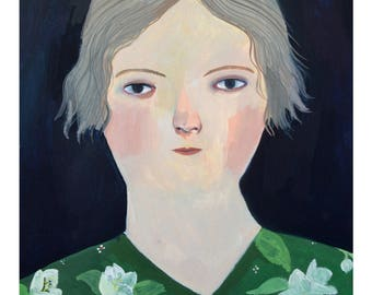 Lily - Giclee print