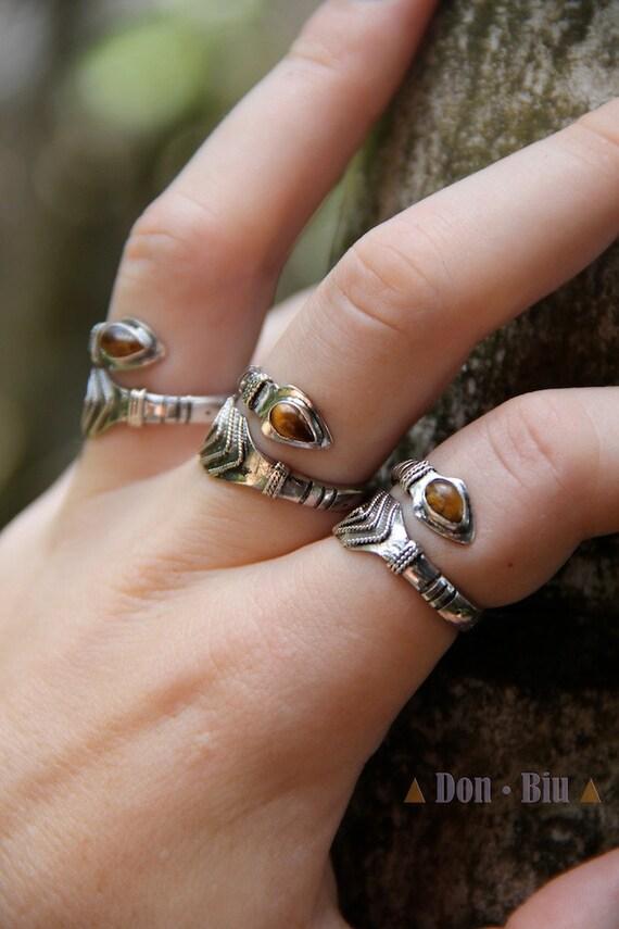 Bohemian Rings Simple Ring Silver Ring Arrow Sterling Ring