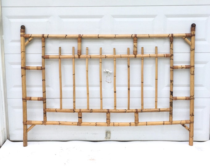 Vintage Bamboo Kingsize Bed