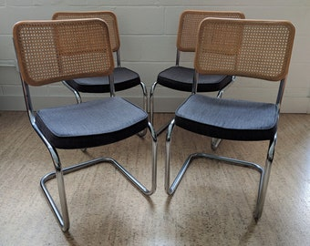 Cantilever Chairs by Daystrom – Vintage Cantilever Dining Chairs – Marcel Breuer Style Chair – Vintage Cesca Chair