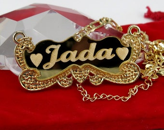 Personalized Name Necklace 18K Gold Plated with Any Name