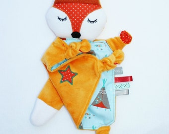 Little Indian Fox plush toy