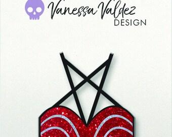 PRE-ORDER Selena Quintanilla Bustier Inspired Hard Enamel Pin