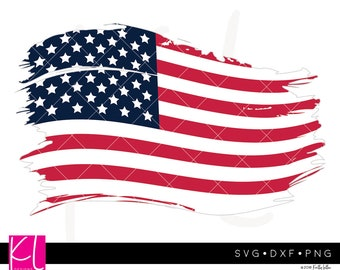 Distressed American Flag svg, Distressed Flag svg, Grunge Flag svg, USA Flag svg, Patriotic svg, 4th of July svg, Forth of July svg, US Flag