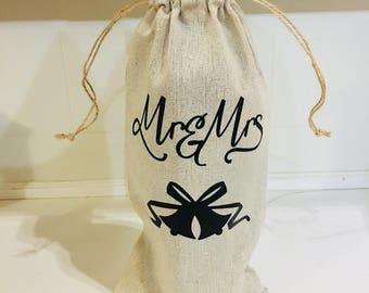 Wine Bag/Mr & Mrs