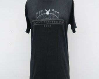 0891 - 90s -Play Boy - Jazz Festival - T Shirt