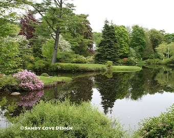 5 x 7 Greeting Card with Envelope - Asticou Gardens, Northeast Harbor, Maine