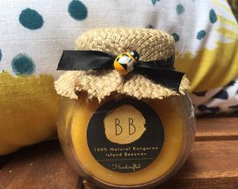 100% Natural Kangaroo Island Beeswax Candle