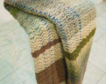Handwoven shawl, handwoven scarf, wool scarf, wool shawl,accessories,