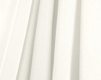 Ivory Chiffon Fabric - by the Yard