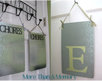 """Large """"CHORES"""" OR Initial Magnet Board"""
