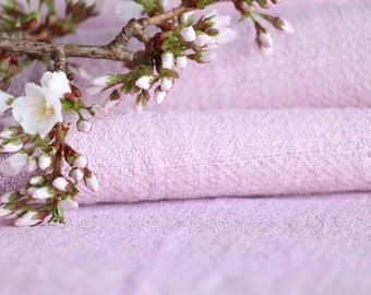 S51: antique handloomed lin LITTLE GIRLS ROSE 3.825yards,  by 24.02nches ; 리넨 , gogmul jalu, cushion, pillow, french lin,upholstery fabric