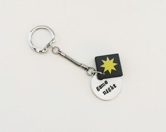 game night - Qwirkle - keychain