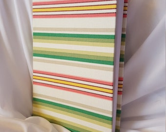 Pastel Stripes Journal
