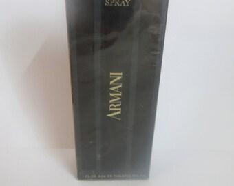 Giorgio Armani Black 30ml Eau De Toilette rare discontinued.