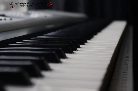 Items Similar To Piano Black And White Decor Studio Music