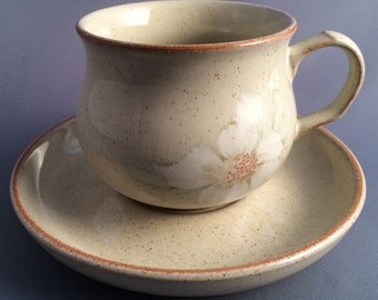 Denby England Daybreak Tea Cup and Saucer