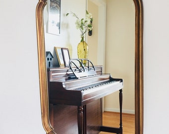 Authentic Vintage Gold Mirror