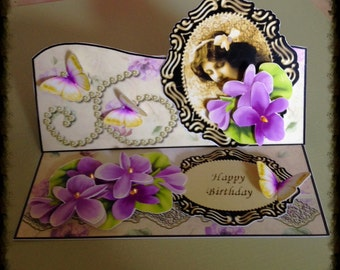 Victorian Easel Card