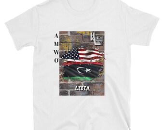 AMWO T-shirt - USA/Libia
