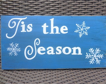 Tis the Season Sign