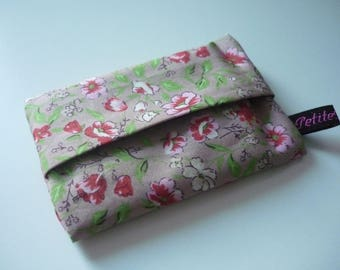 Flower fabric Pouch for tissues