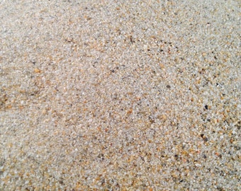 AT THE BEACH - Sand - 12 oz Sand for Crafts, Wedding, Jewelry Projects, Message in a Bottle