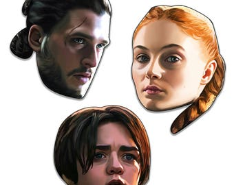 Game of Thrones Stark Edition Sticker Pack