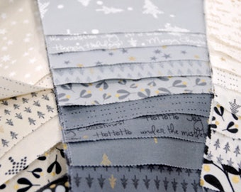 Modern layer cake | Fragile by Zen Chic for Moda | patchwork fabric | quilters cotton