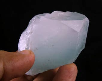 224 Grams 100% Natural Well Terminated Aquamarine Crystal Mineral Specimen From Hunza Valley Nagar Mine Pakistan.