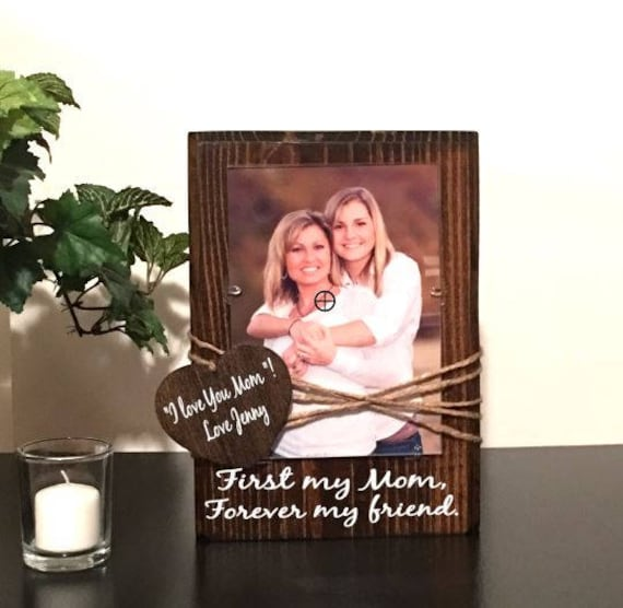 Mom - mom birthday gift - mom gifts - mother daughter frame - photo ...