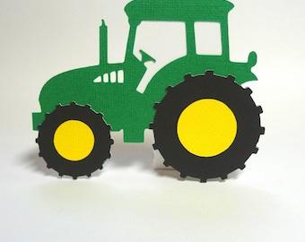 Farm Tractor SVG Cut File, SVG, DXF for Cameo Silhouette, Cricut Design Space, Transportation Cut File
