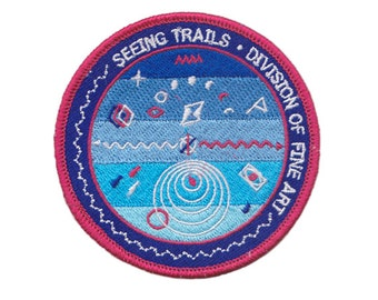 Seeing Trails (DFA) Division of Fine Art Patch
