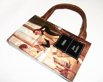Jane Austen Emma Book Purse Handbag