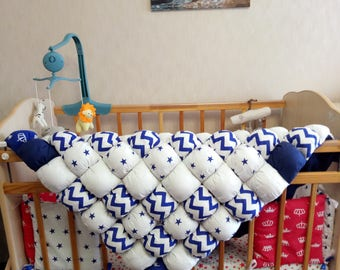Baby blanket, bubble quilt, tummy time mat