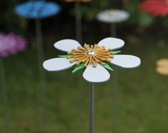 Pollination Flower Stem - Bramble Silver