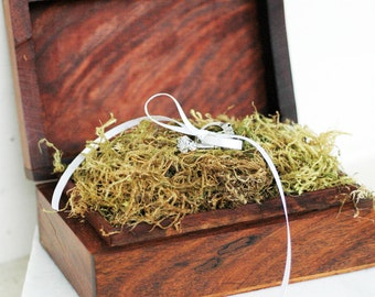 Wooden Ring Box / Celtic Wedding