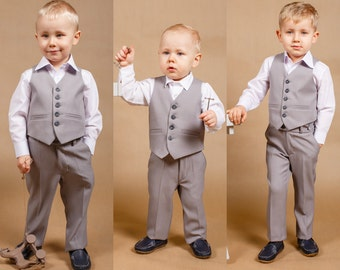 Ring bearer outfit Formal bou suit Boy suit Baby boy outfit Communion outfit Wedding boy outfit Baby boy suit Wedding suit Formal boy outfit