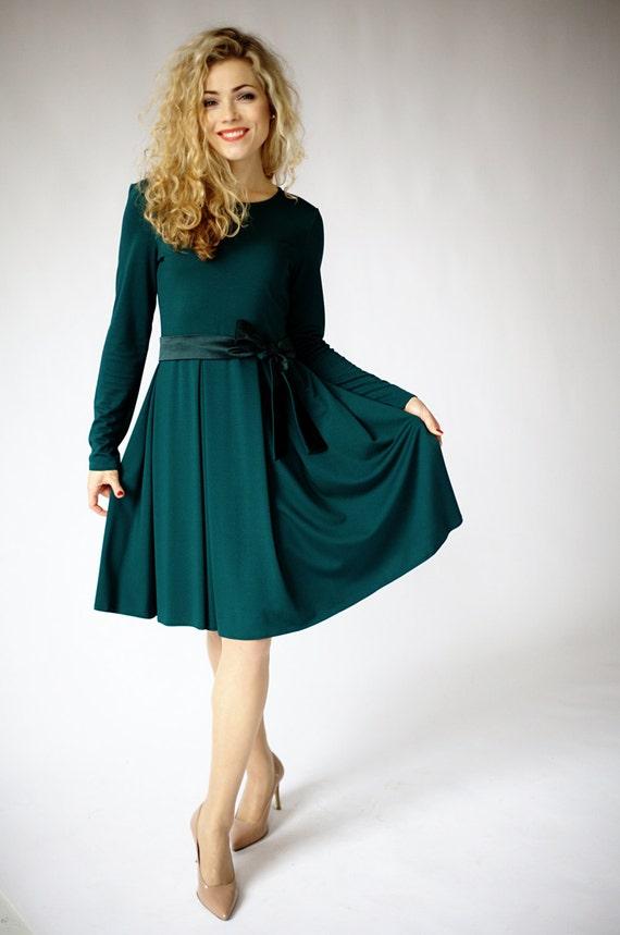 Dark Blue Green Dresses