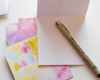 note cards, stationary cards, stationery set, blank cards, blank note cards, note card set, colorful stationery, watercolor note cards
