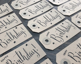 10 Birthday Gift Tags
