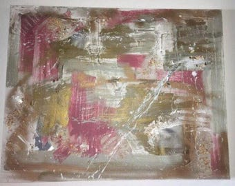 Rose in Rising- Original Abstract Painting