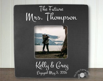 Engagement Frame Engagement Gift Personalized Engagement Gift Personalized Engagement Frame The Future Mrs IB5FSWED